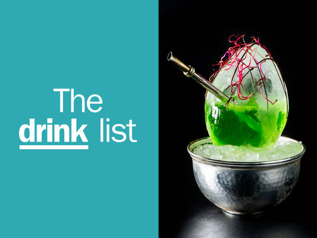 The Drink List English