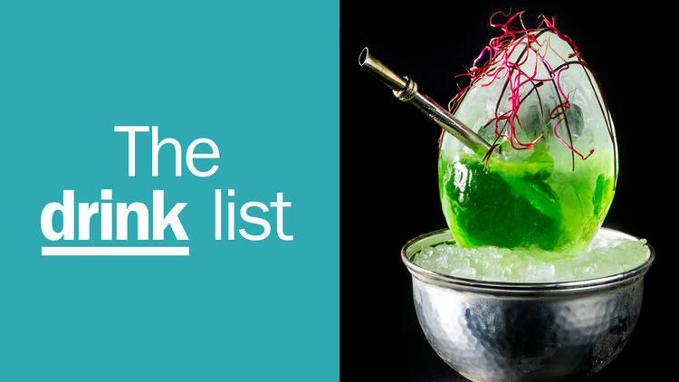 The Drink List English