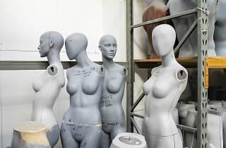 Four mannequins