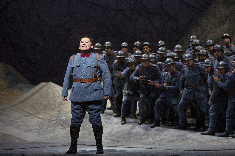 Ópera La hija del regimiento con Javier Camarena