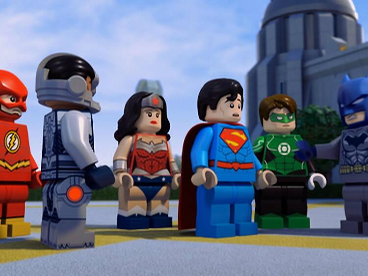 Películas y series de Lego