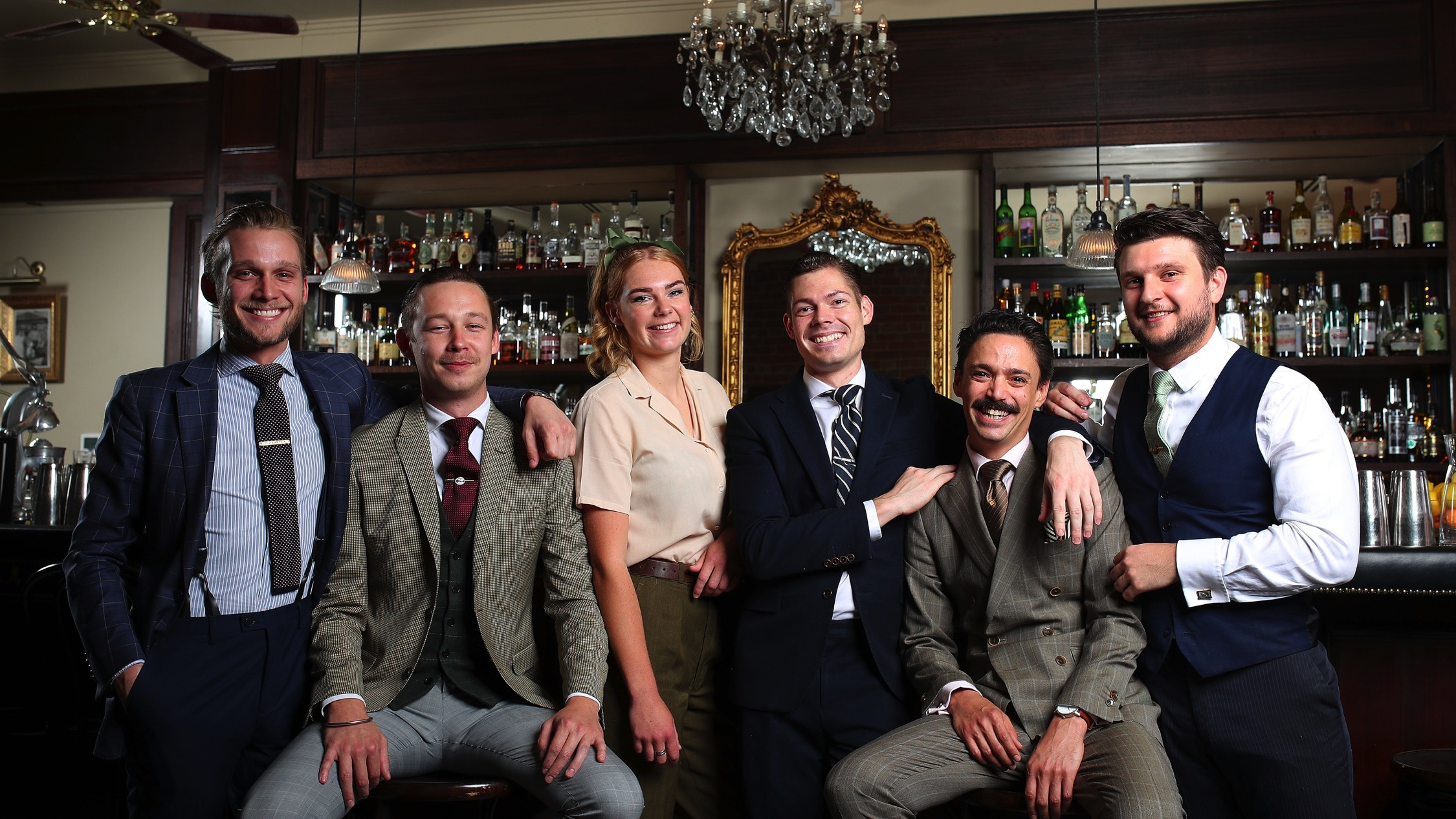 Bar team together at The Everleigh
