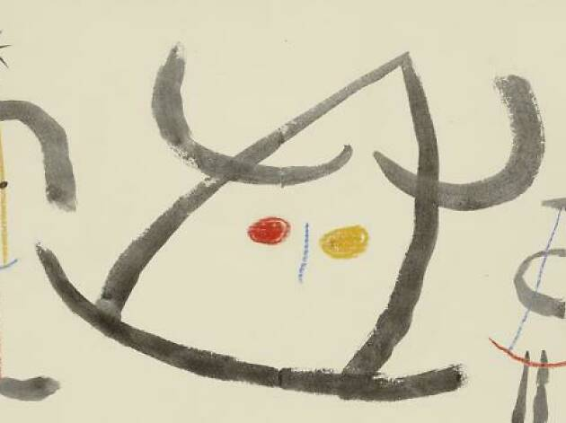 «L'enfançe d'Ubu» (1953), de Joan Miró