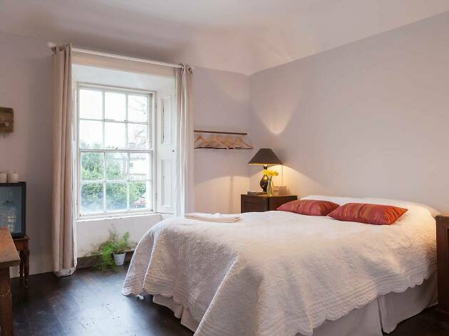 bright georgian style bedroom