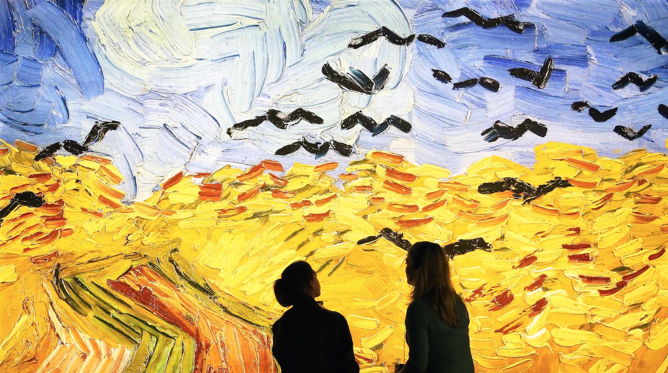 Així és l'experiència de 360º que ens introdueix en l'obra de Van Gogh