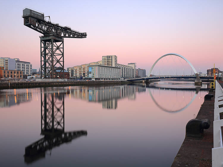 Marvel at The Finnieston Crane and The Clyde