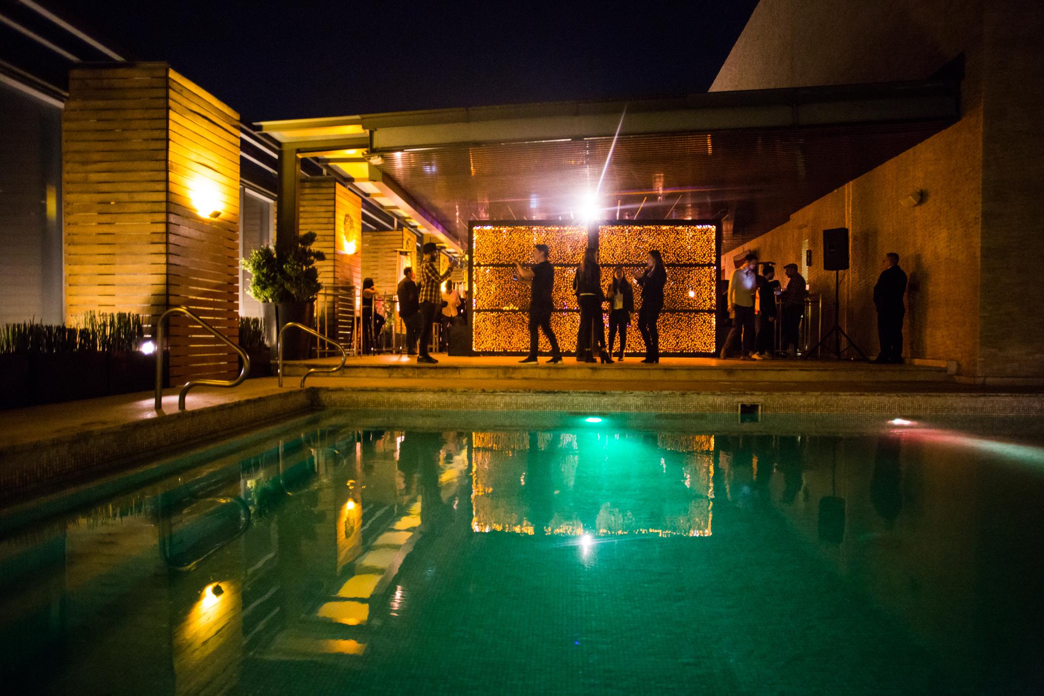 Cielo Rooftop: bar, terraza y alberca del Hilton Santa Fe
