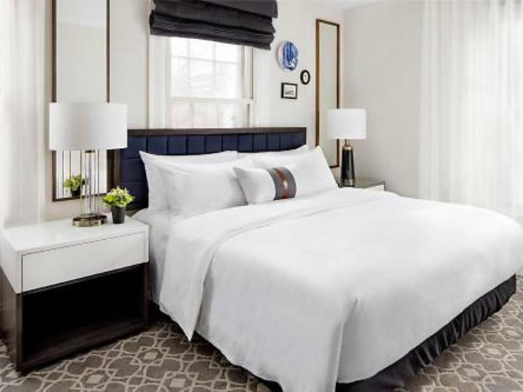 Take a staycation at the Whitney Hotel