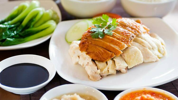 loy kee chicken rice