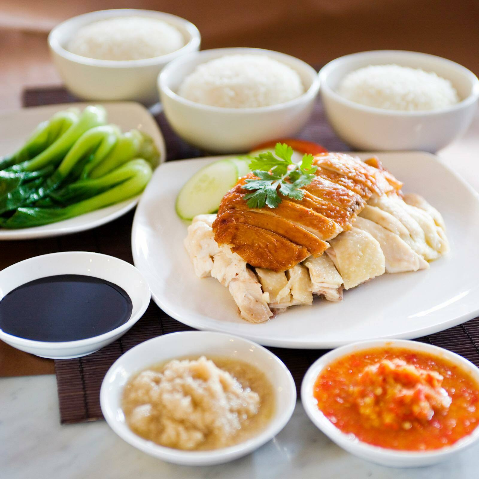 The best chicken rice in Singapore