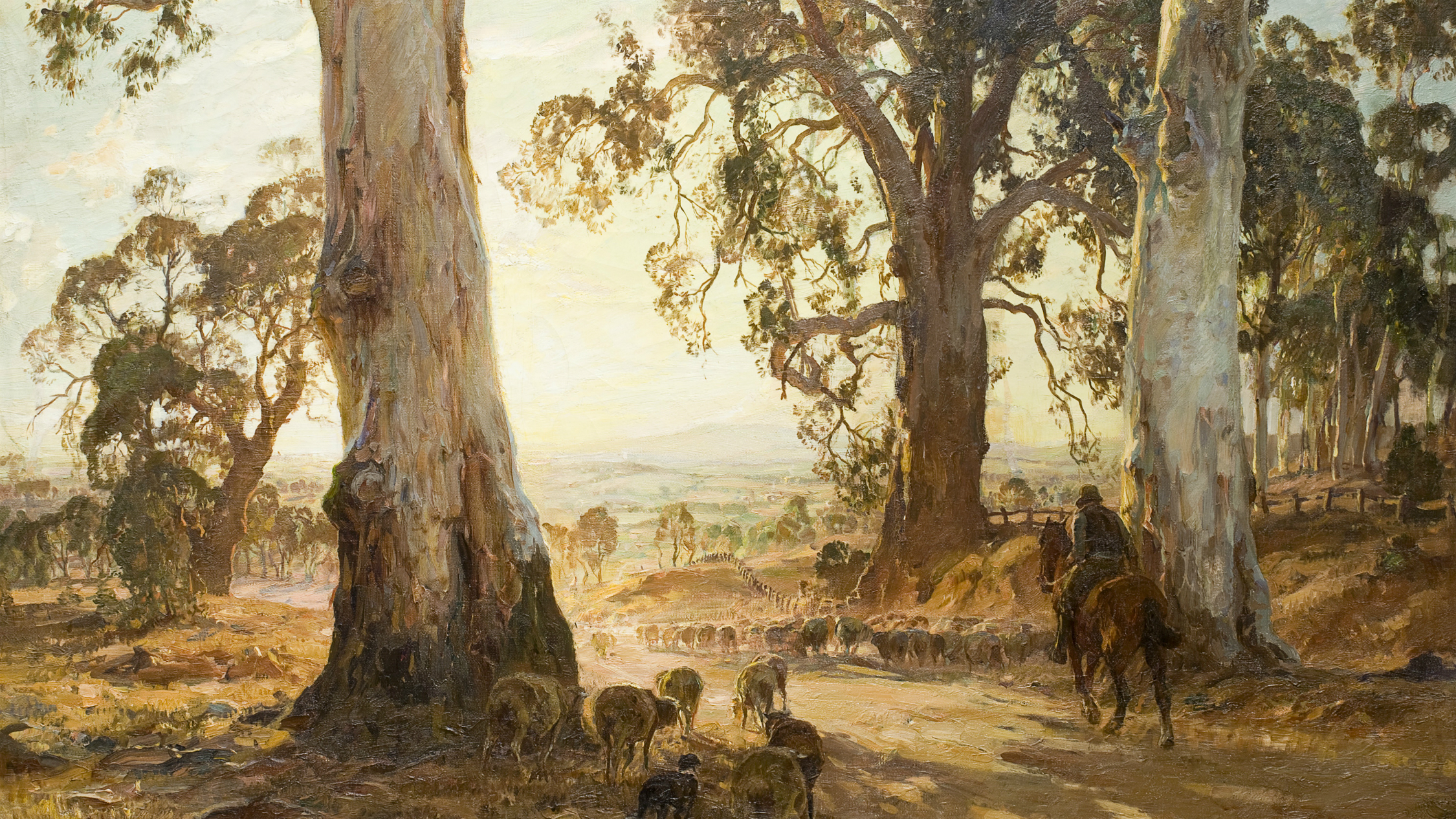 Hans and Nora Heysen: Two Generations of Australian Art NGV 2019