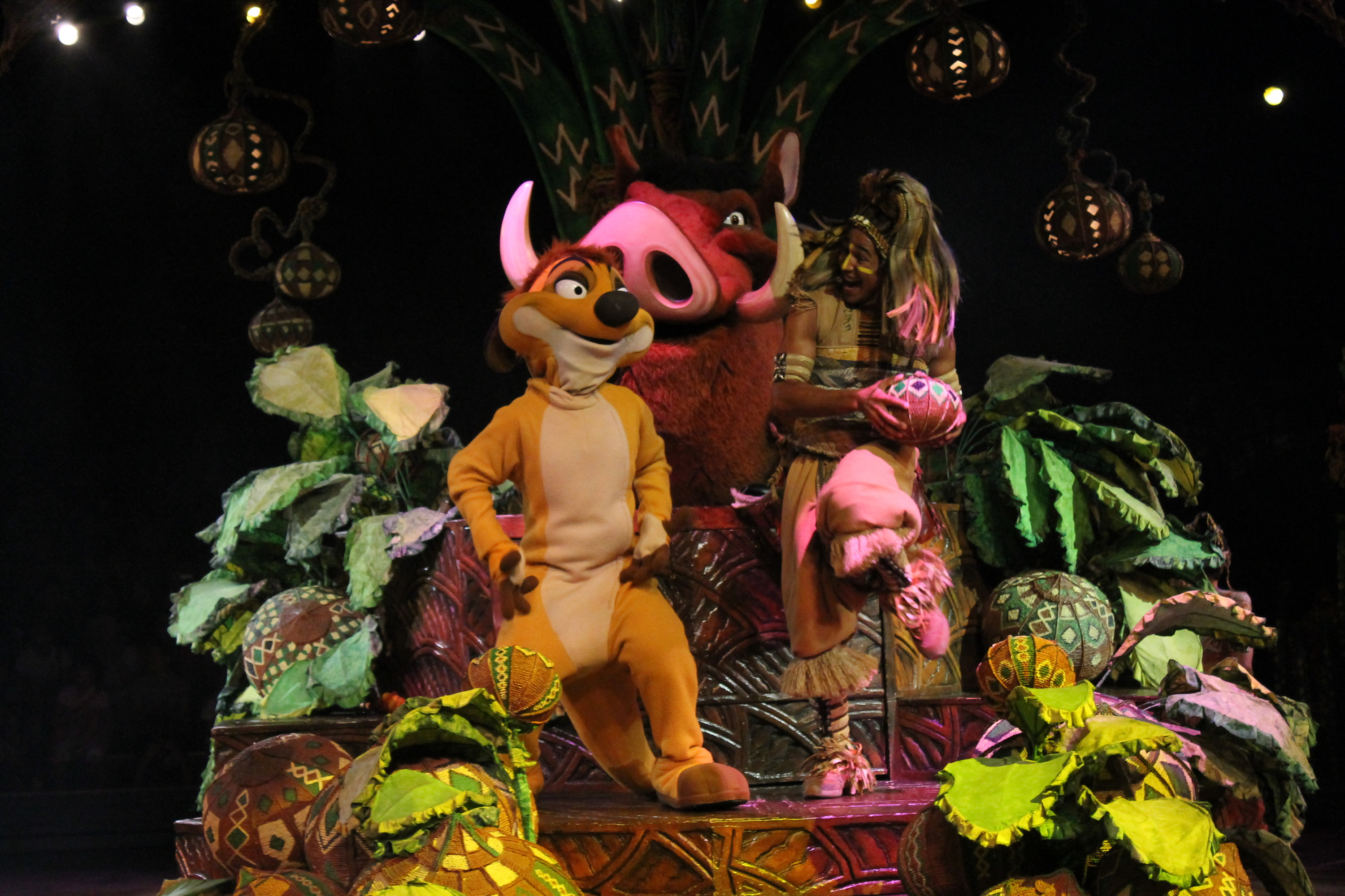 Disneyland - Festival of the Lion King