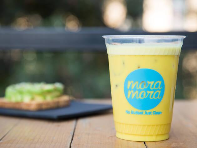 golden milk Mora Mora CDMX