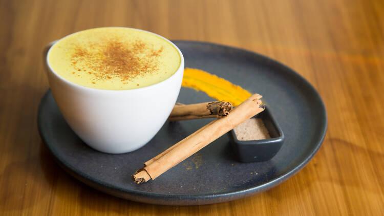 Los mejores cafés con golden milk en la CDMX