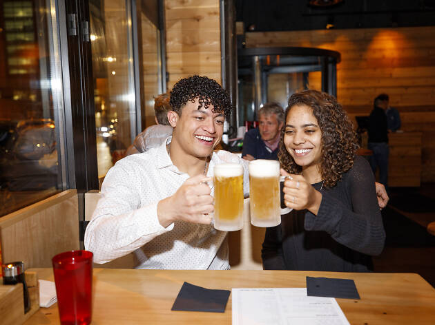 We sent two complete strangers on a blind date in River North—here's how it went