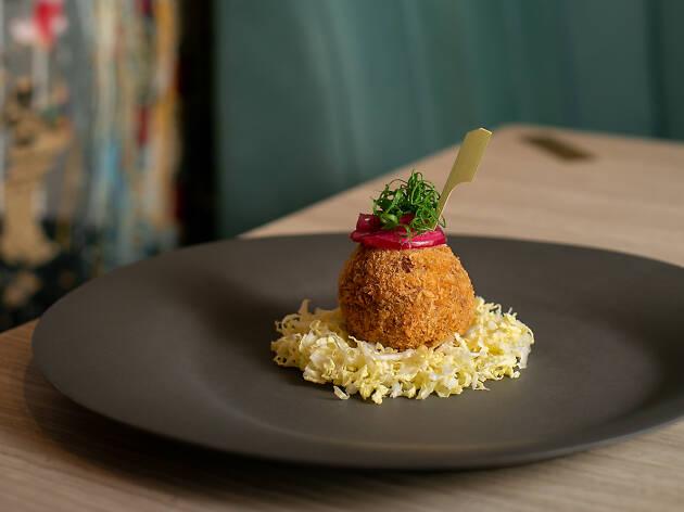 Silencio - wagyu beef and foie gras katsu