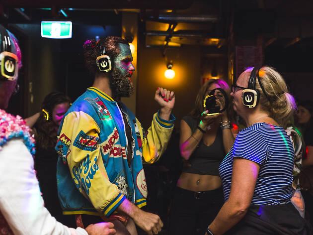 Art at Night Redfern and Chippendale precinct Art Month Sydney 2019
