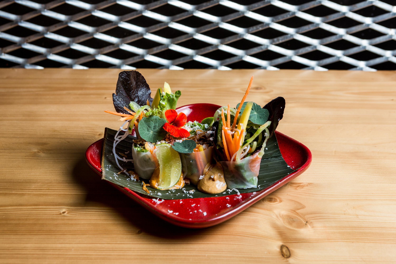 Guoi Cuan de salmão do Soi
