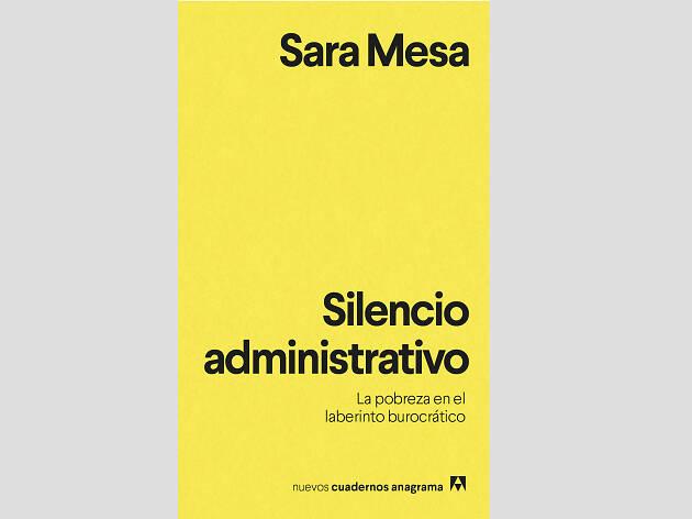 'Silencio administrativo', de Sara Mesa