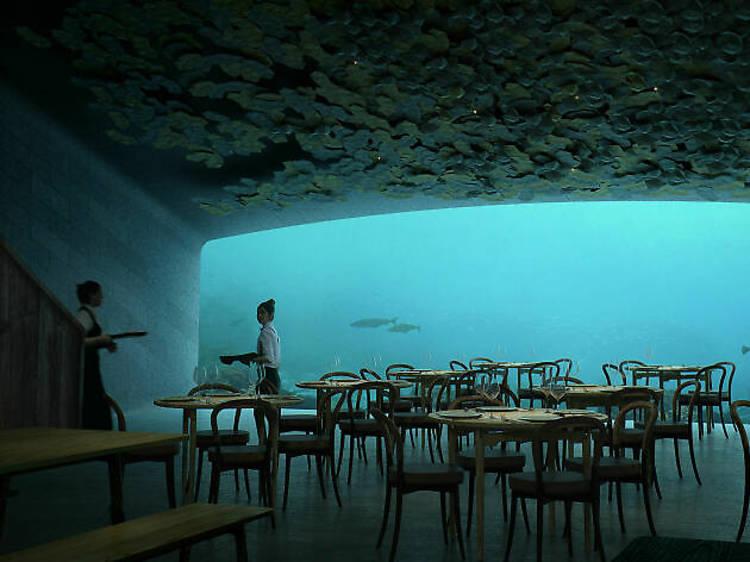 Norway's subaquatic super-restaurant