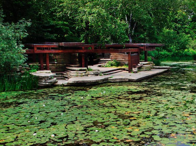 Meditate in a hidden garden