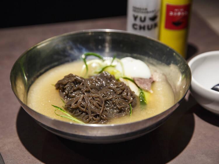 焼肉 冷麺 ユッチャン