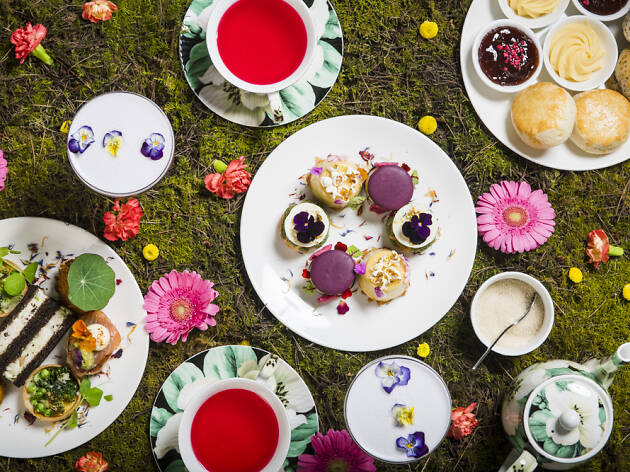Floral Tea Sheraton Hotel