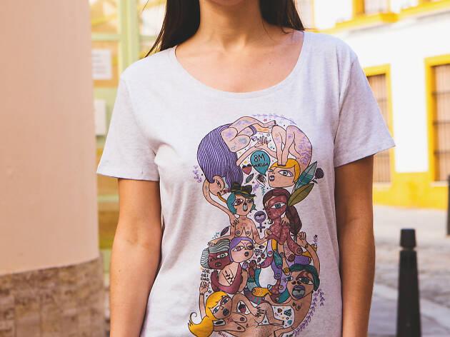 p.nitas* camiseta feminista