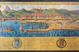 Pintura Fameuse ville de Barcelone