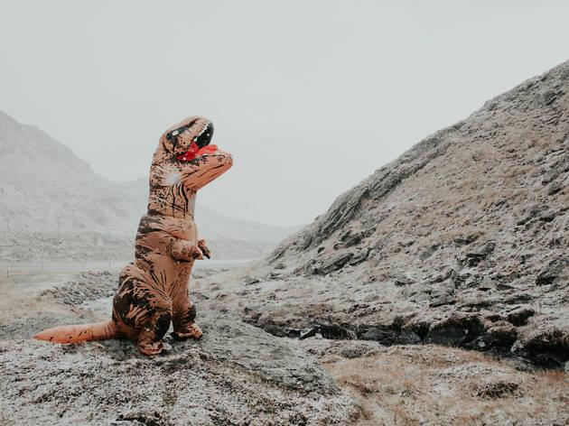 Disfraz dinosaurio