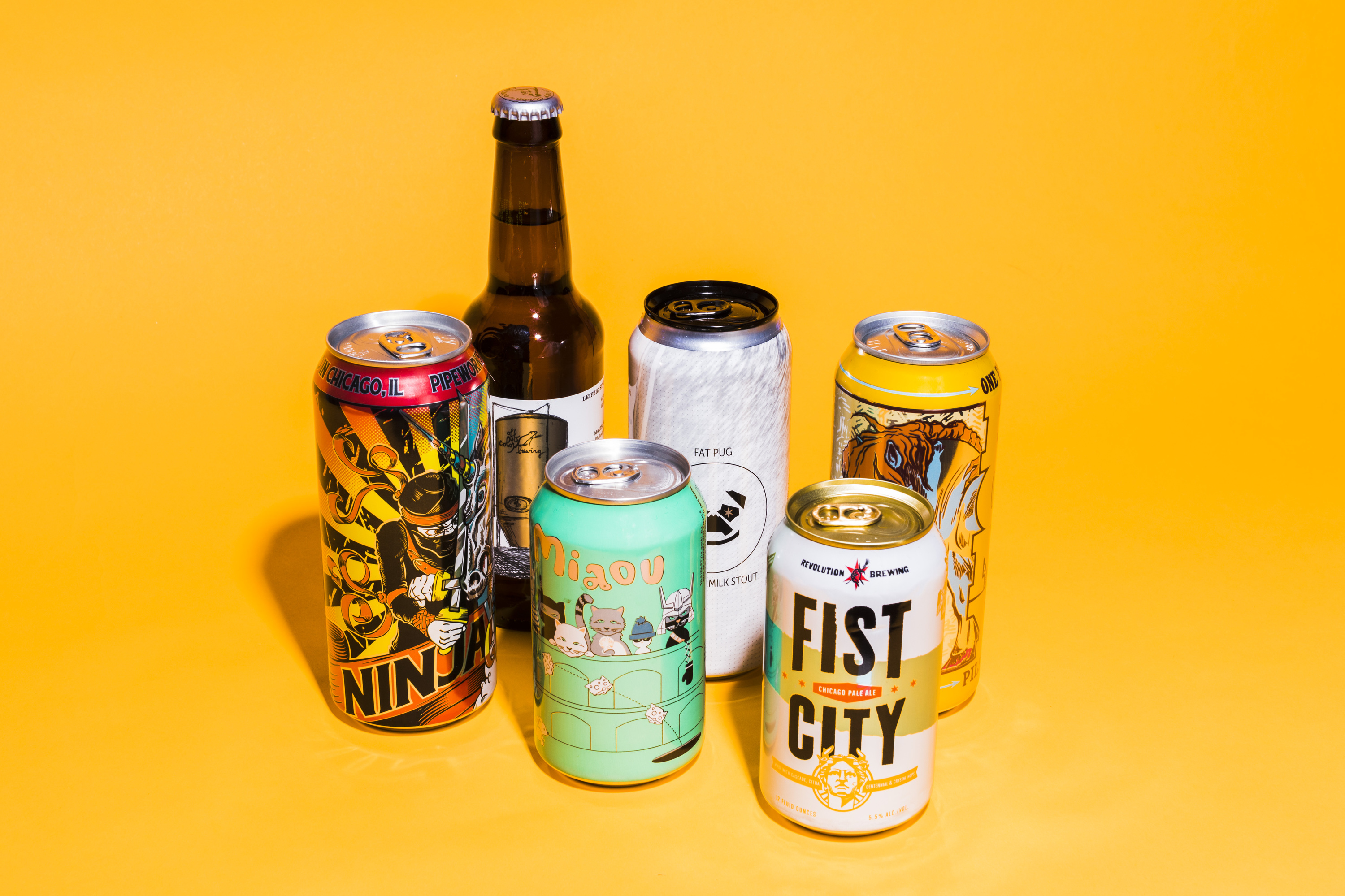 This is the ultimate Chicago six-pack, according to local beer experts
