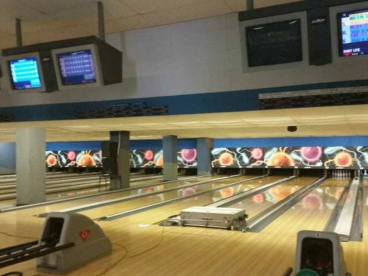 Knock down some pins at the Bowladium Family Fun Center