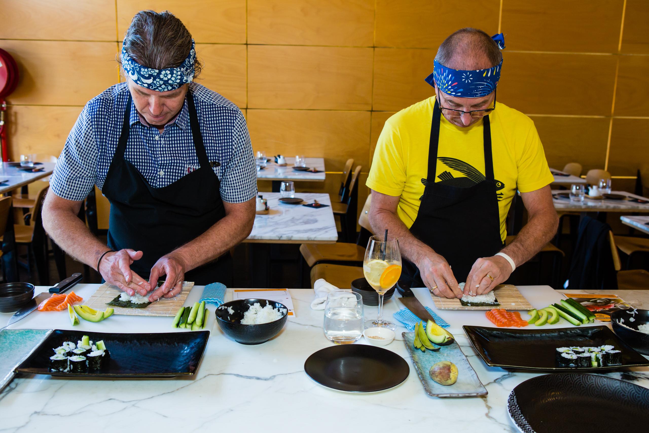 Akachochin sushi class