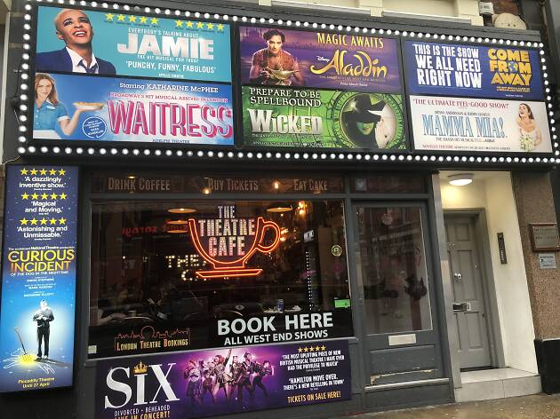 Theatre Cafe, Shaftesbury Avenue