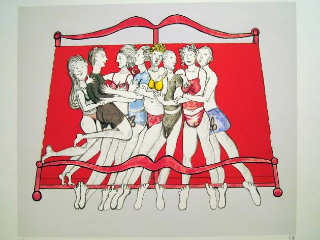 Louise Bourgeois' prints: Anatomy of an Artist