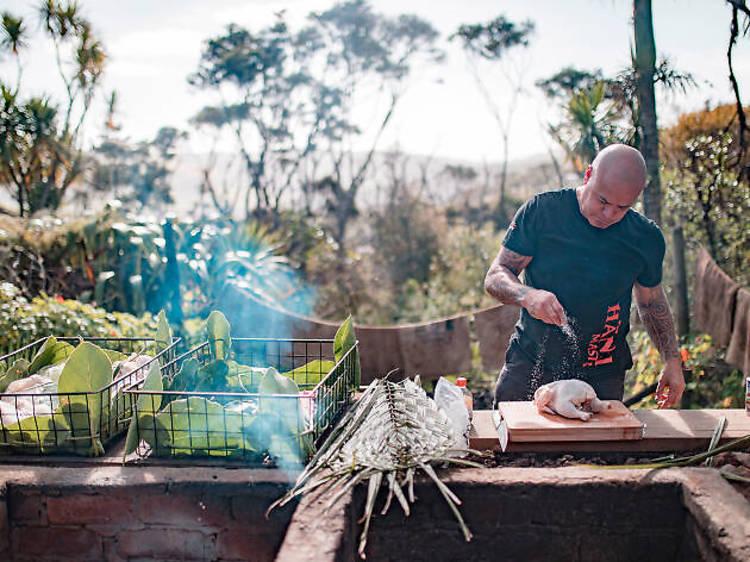 Māori dining in Auckland