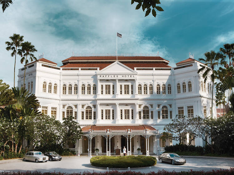 A chef takeover at Singapore's historic hotel
