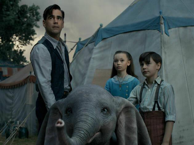 Dumbo, la nueva película de tim Burton