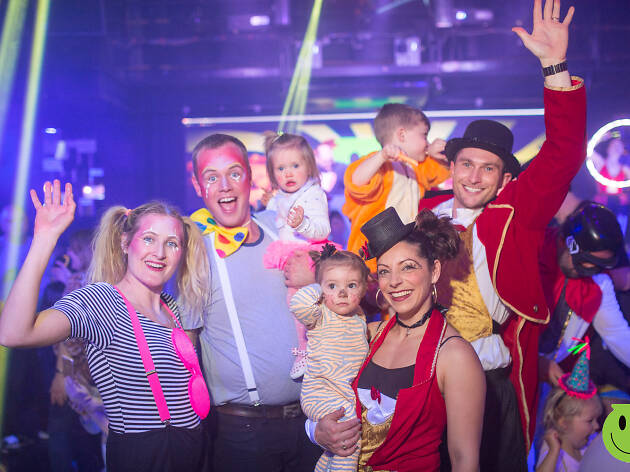 Mad Hatter's Tea Party Family Rave