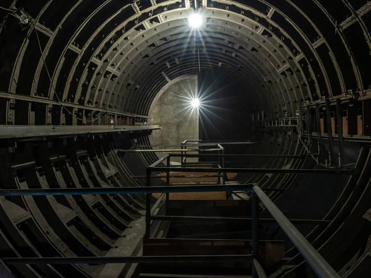 Explore Euston's lost tube tunnels