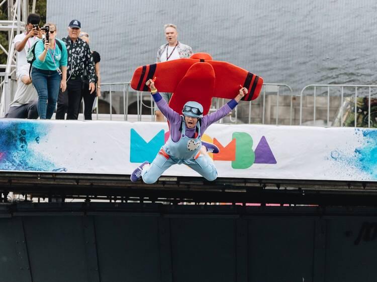 See the Birdman Rally at Moomba Festival