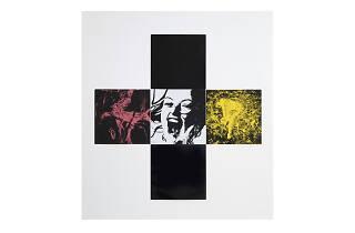 Gretchen Bender, Untitled (the pleasure is back I), 1982