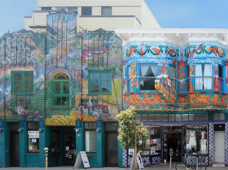 Precita Eyes Mural Arts & Visitors Center