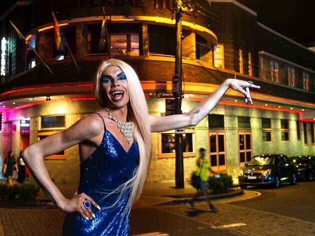 Drag queen Felicia Foxx gives her hot tips for exploring Erskineville after dark