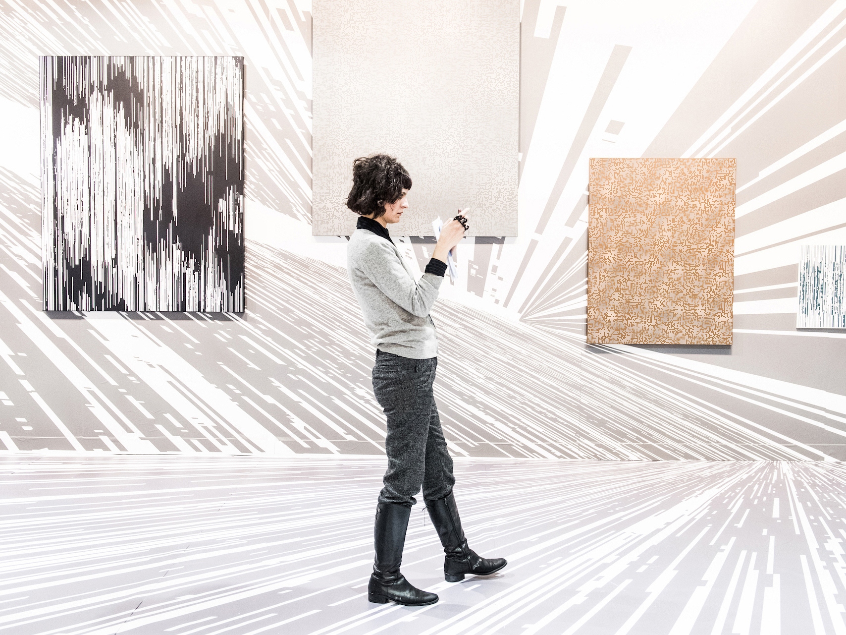 See incredible art at the Armory Show