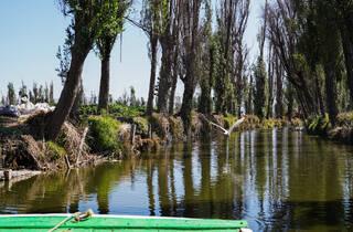 Lago de los Reyes Aztecas en Tláhuac en la Ciudad de México