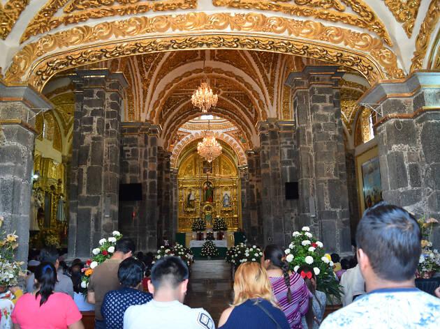 Ex Convento de San Andrés Apóstol en Mixquic Tláhuac