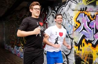 5km Street Art Running Tour