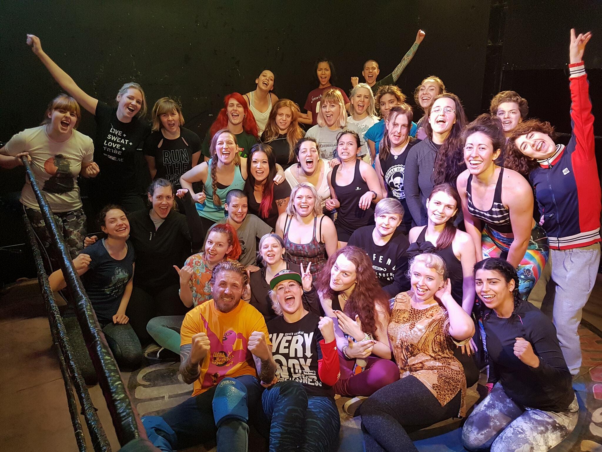 EVE Academy: London's School of Women's Wrestling Open Day