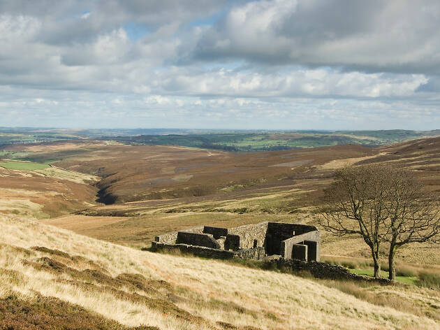 Top Withins, near Haworth in Yorkshire